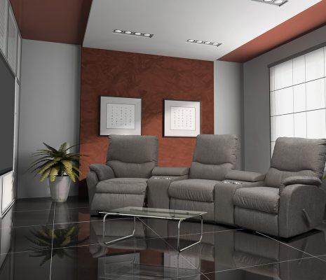 מערכת ישיבה לקולנוע ביתי 2066