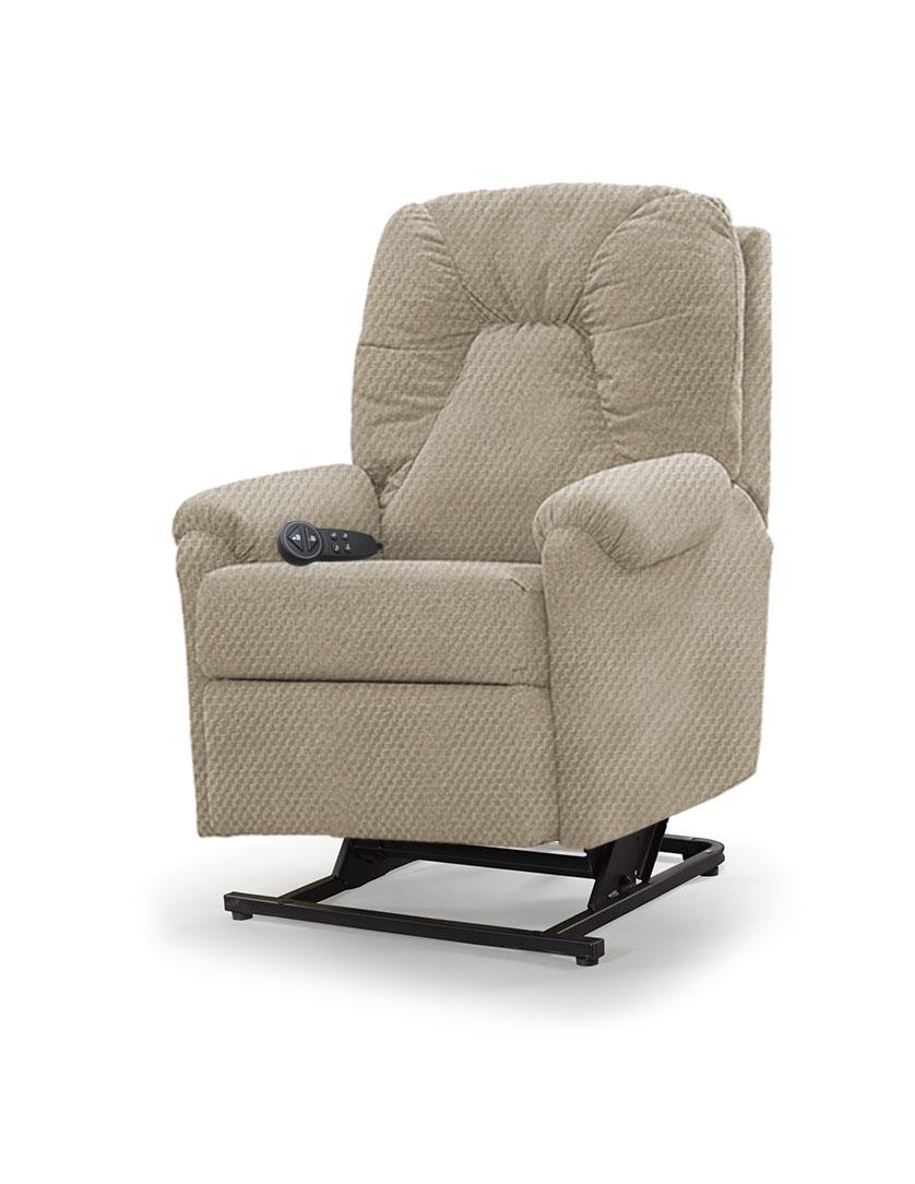 כורסת סטנד אפ חשמלית כורסא סיעודית LP1 רילקסון תוצרת קנדה - אפור חום