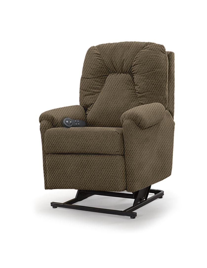 כורסת סטנד אפ חשמלית כורסא סיעודית LP1 רילקסון תוצרת קנדה - חום