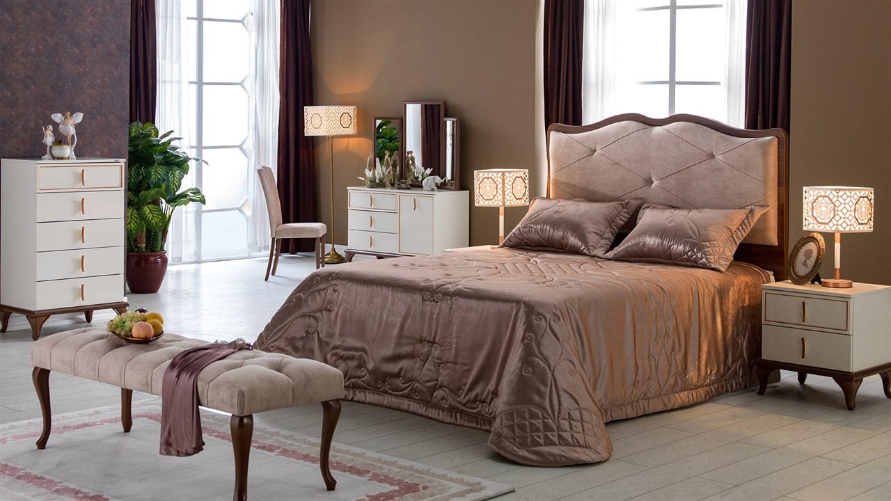 קלרה חדר שינה רילקסון מיטה מרופדת מיטה מפוארת (1)