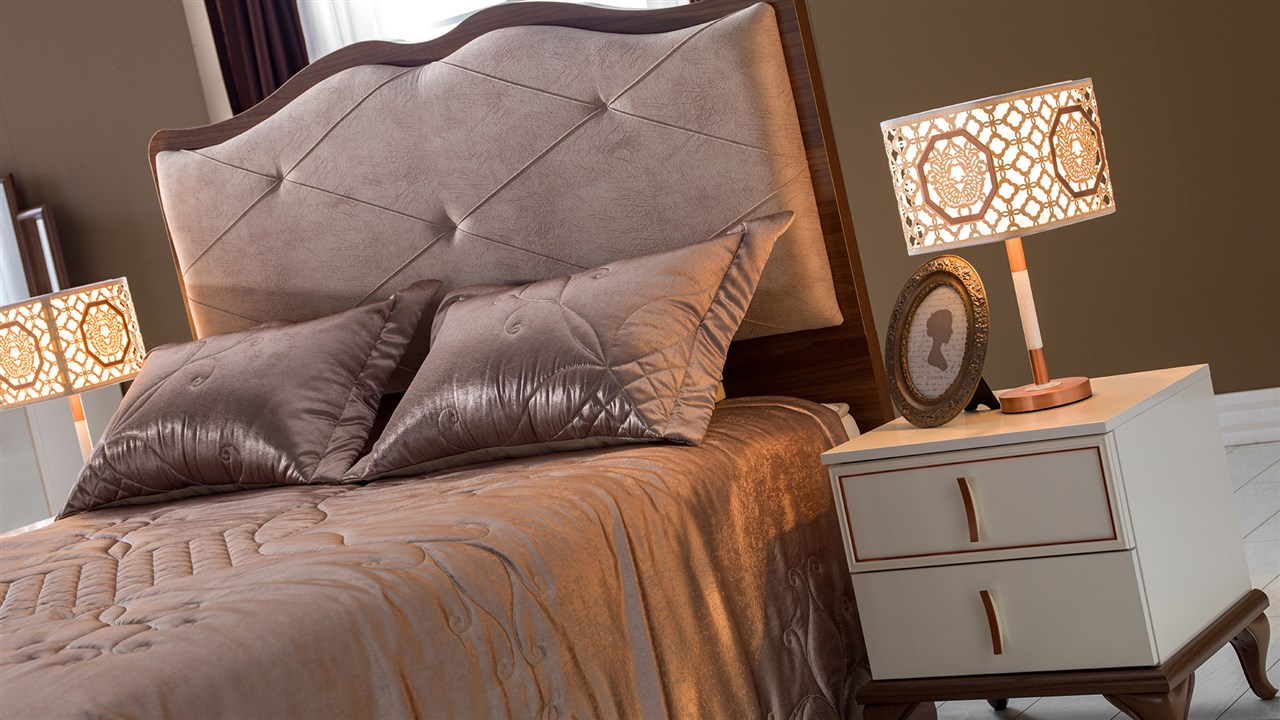 קלרה חדר שינה רילקסון מיטה מרופדת מיטה מפוארת (4)