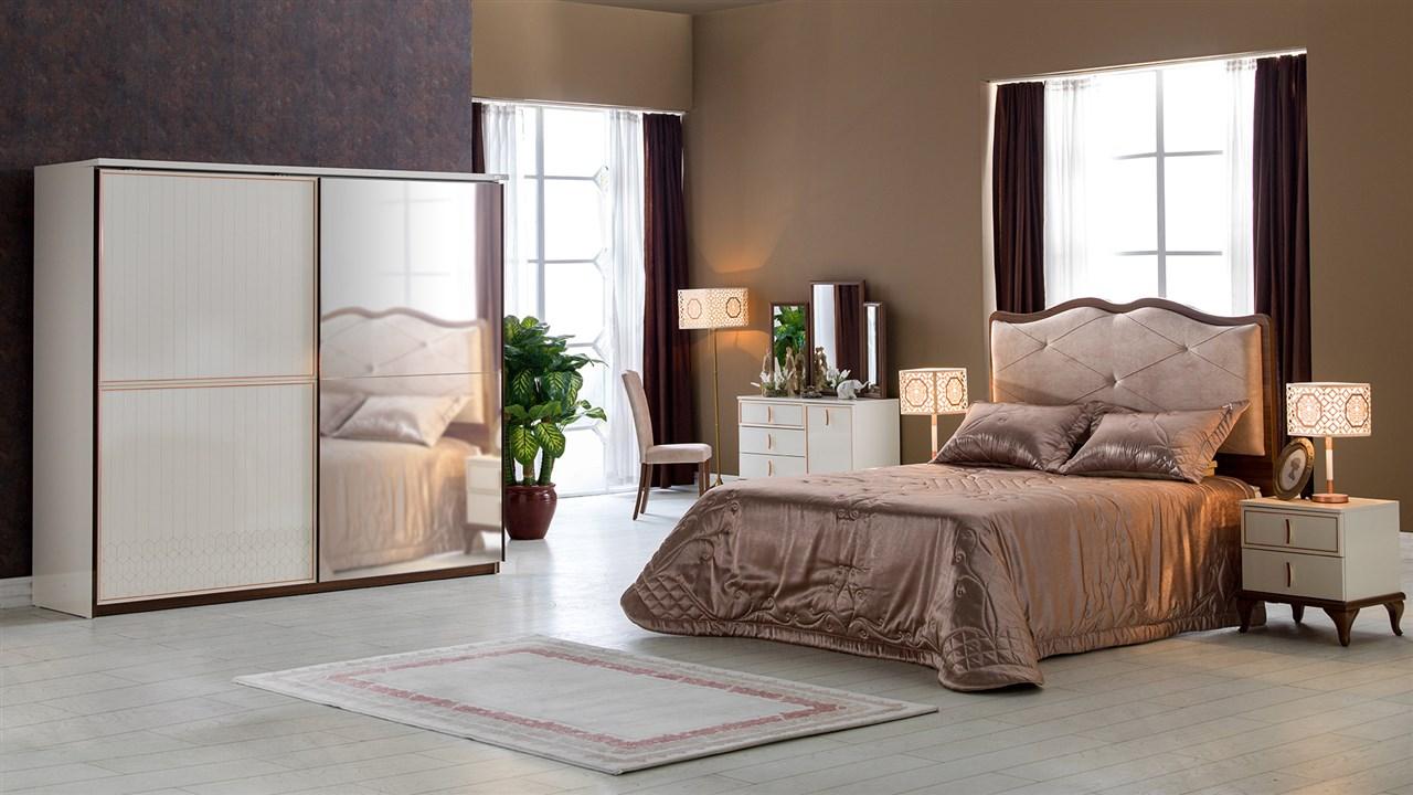 קלרה חדר שינה רילקסון מיטה מרופדת מיטה מפוארת (8)