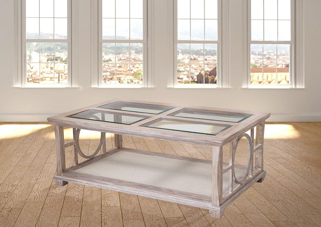 שולחן סלון מעץ אלון מולבן רילקסון דגם דורבל