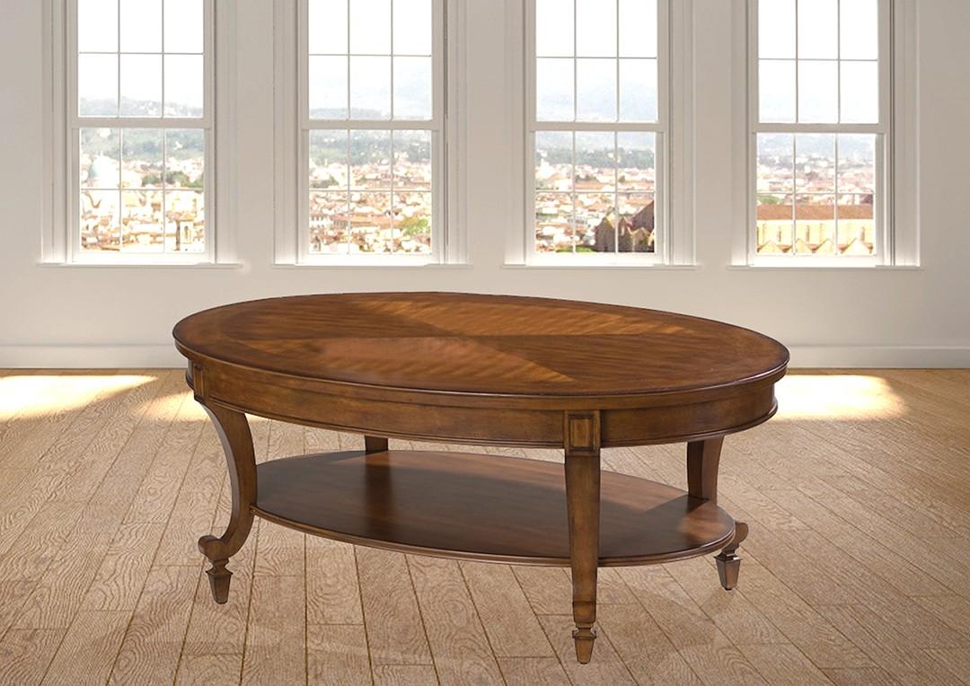 שולחן סלוני אובלי מעץ רילקסון דגם שארלוט