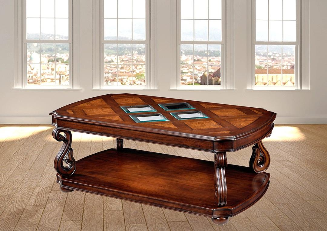 שולחן סלוני בעיצוב עתיק רילקסון דגם דבון
