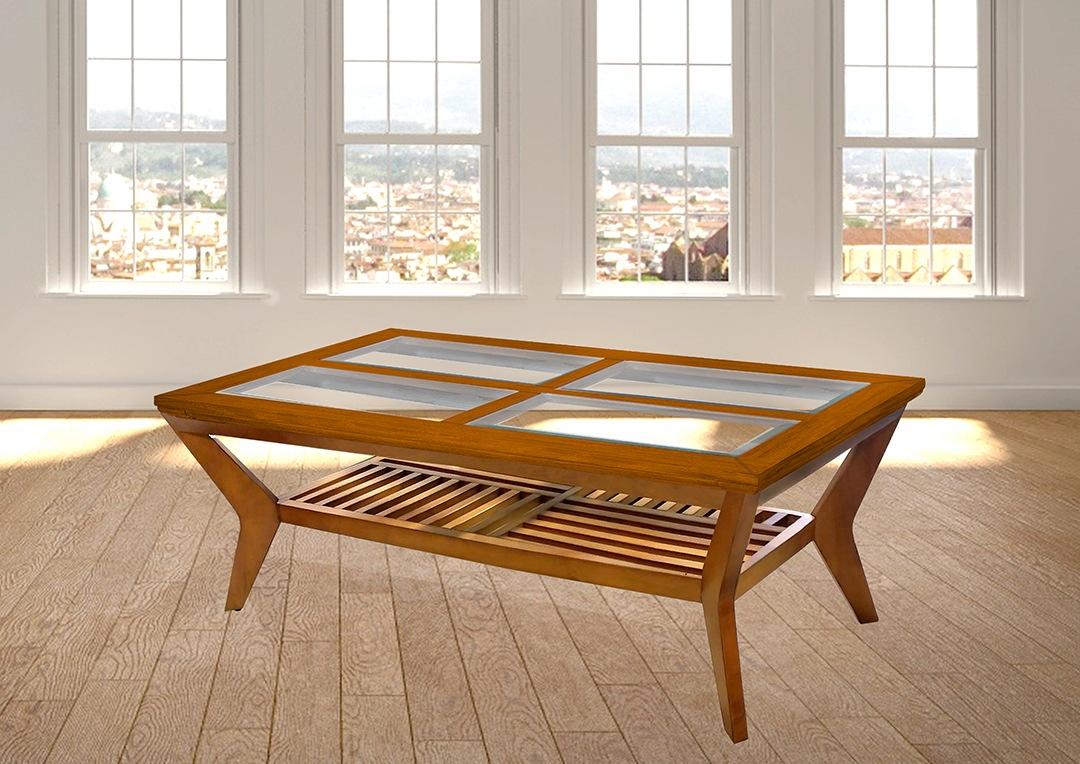 שןלחן סלוני מעץ מלא רילקסון דגם יילונייף