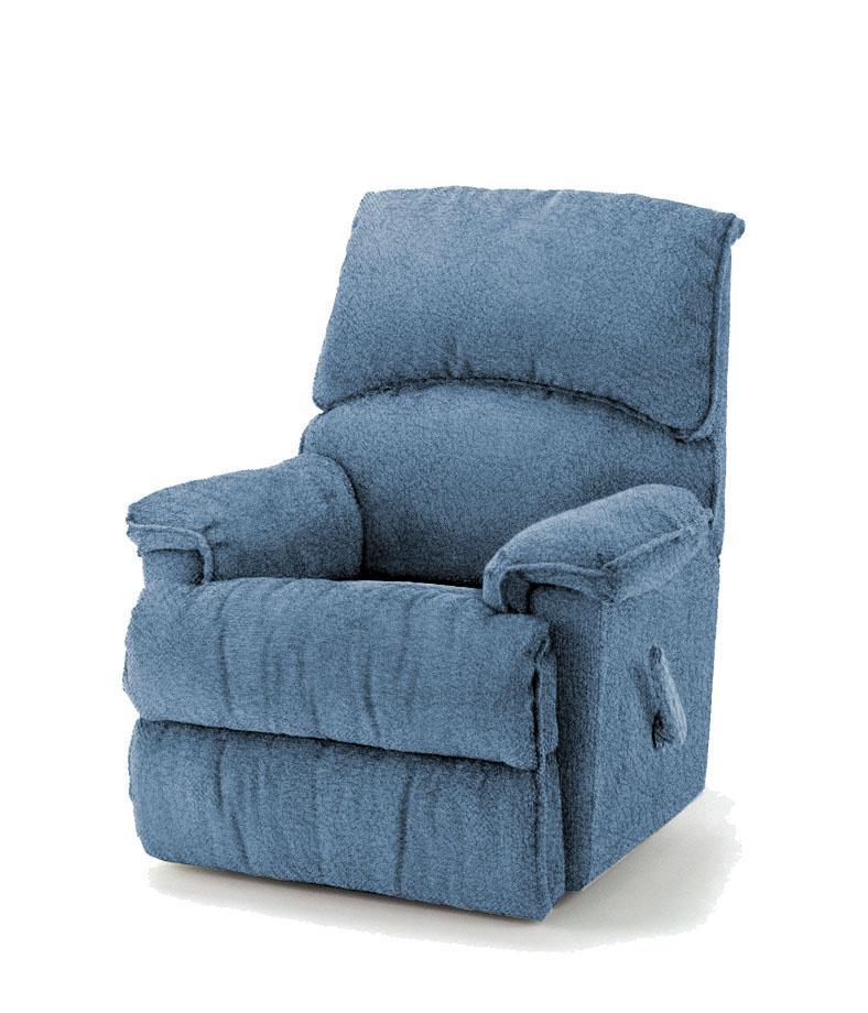 כורסאת טלויזיה ריקליינר רילקסון קנדה דגם 602 כחול