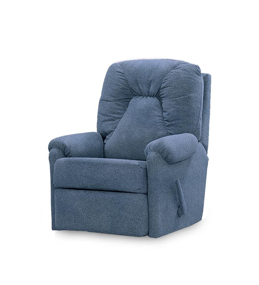 כורסאת טלויזיה קומפקטית ריקליינר רילקסון קנדה 232 נובוק כחול