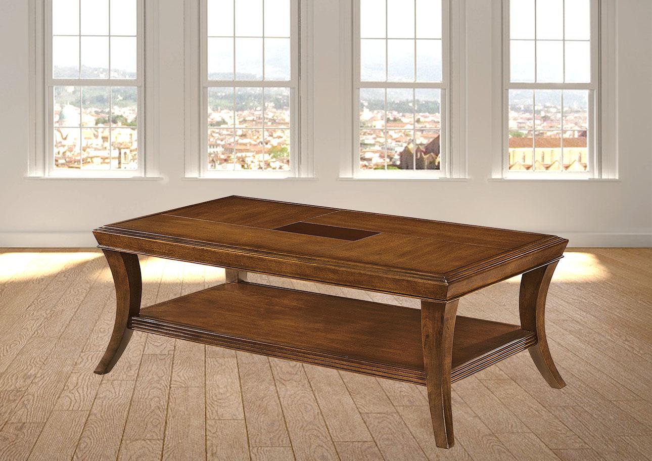 ג'ספר - שולחן סלוני מעץ מלא