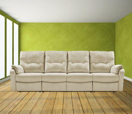 ספה ארוכה עם ריקליינרים 8099