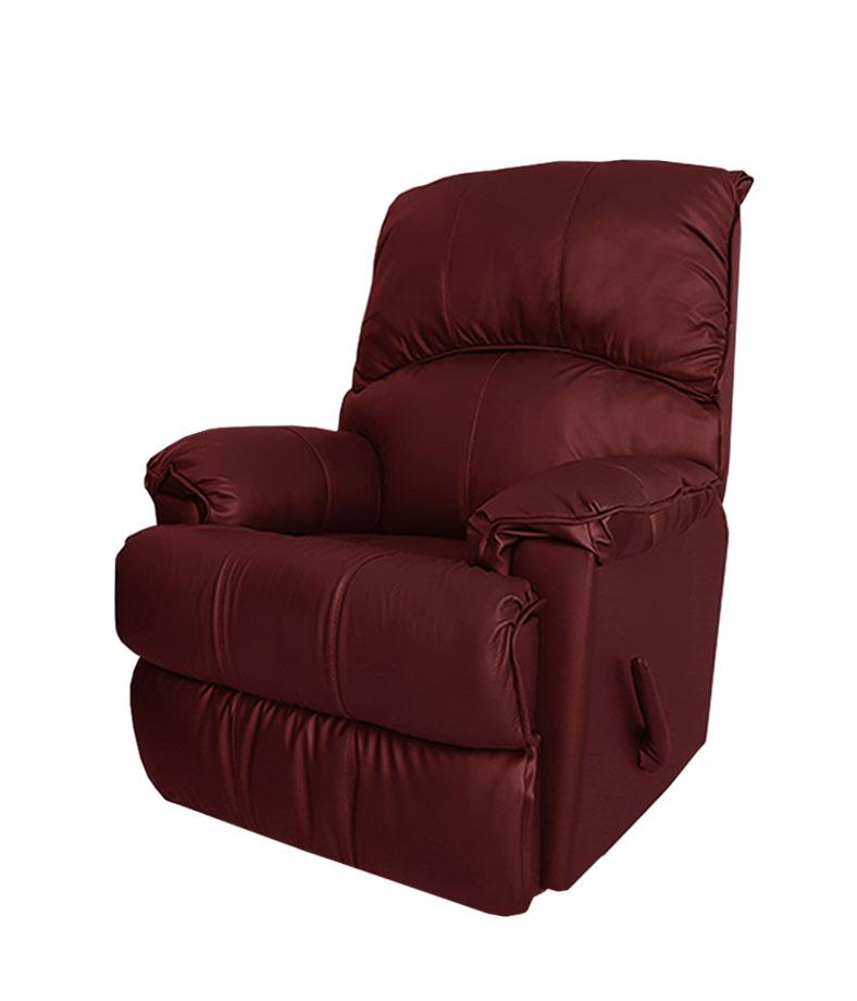 602 רילקסון קנדה עור בורדו כורסא כורסת טלויזיה כורסת טלוויזיה