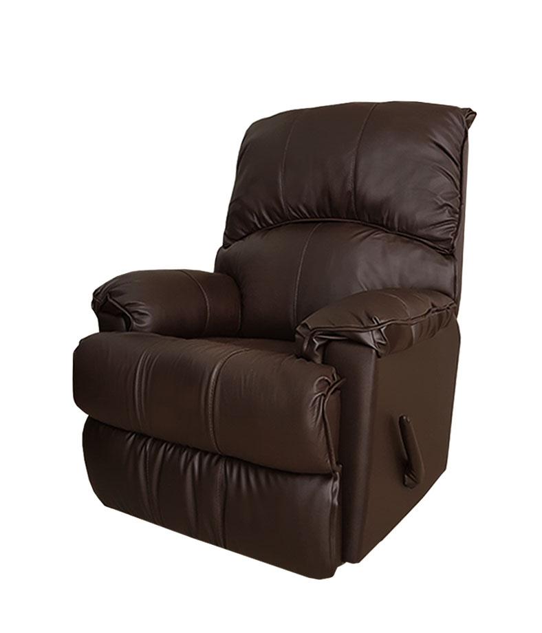 602 רילקסון קנדה עור חום כהה כורסא כורסת טלויזיה כורסת טלוויזיה