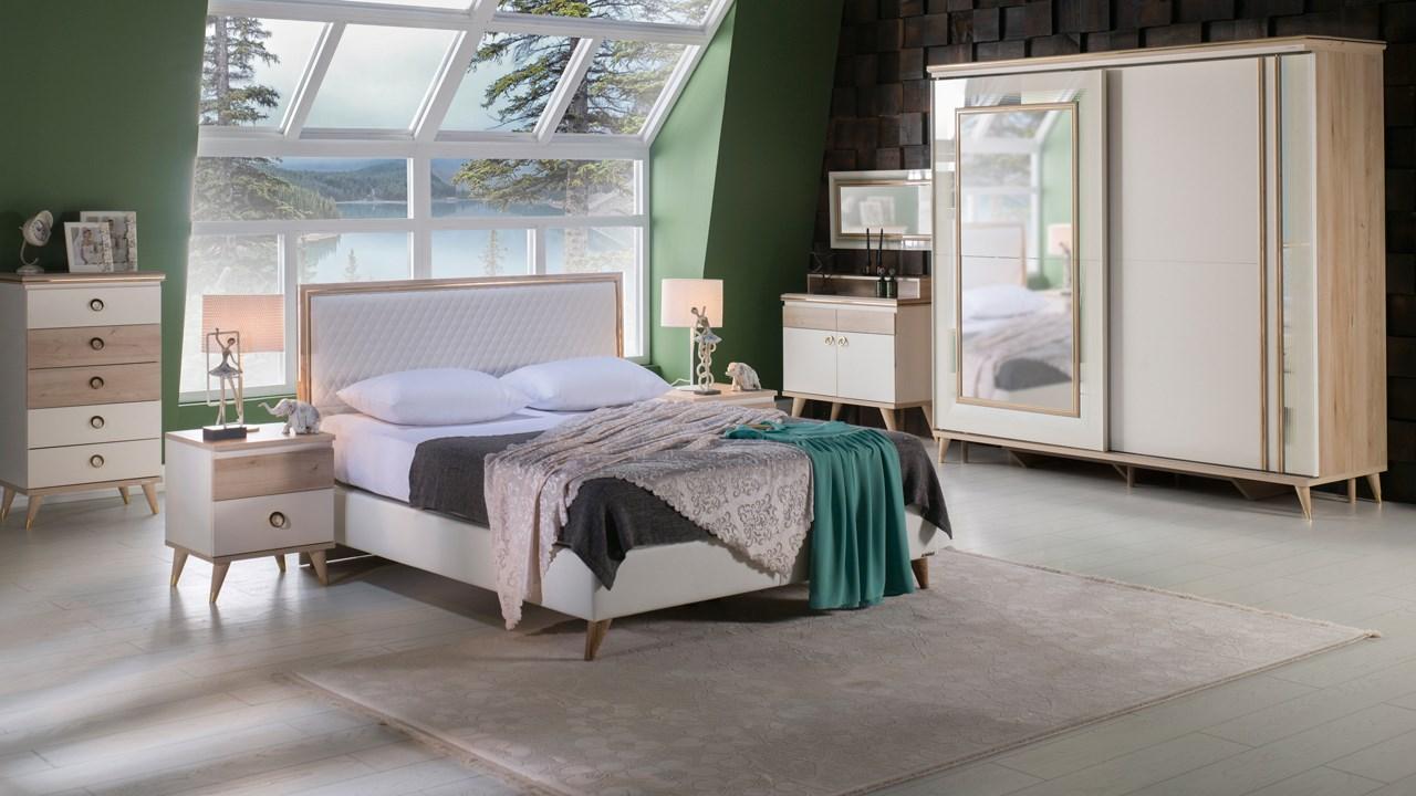 חדר שינה בעיצוב מודרני (5)
