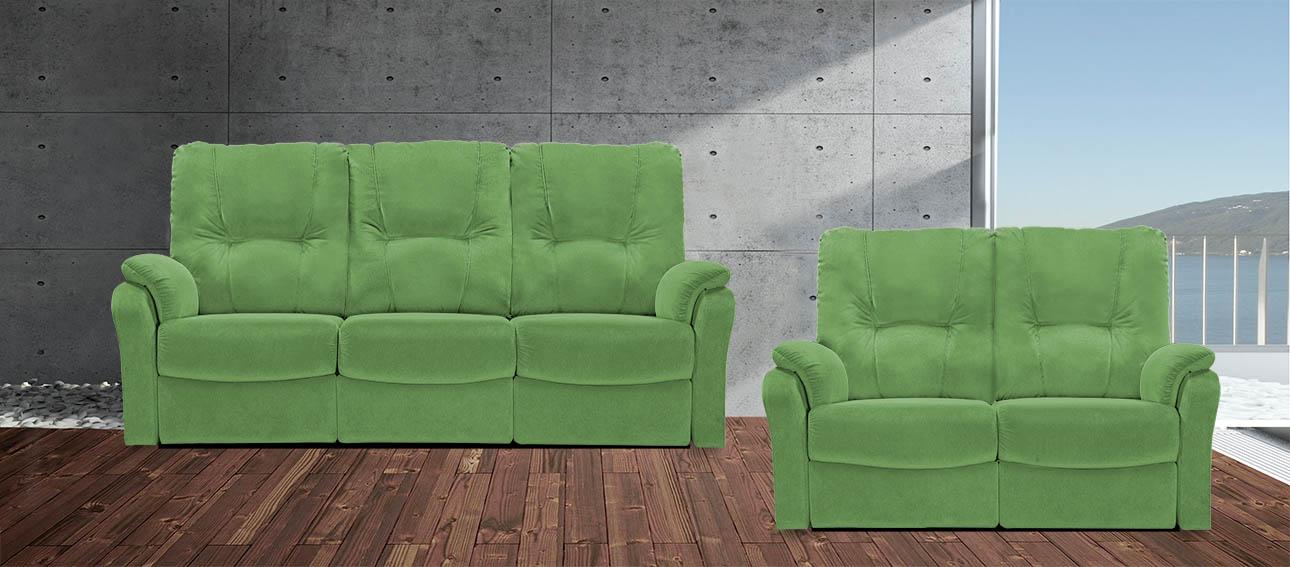 סלון מתכוונן רילקסון קנדה 8099 4600-33 ירוק מיקרופייבר