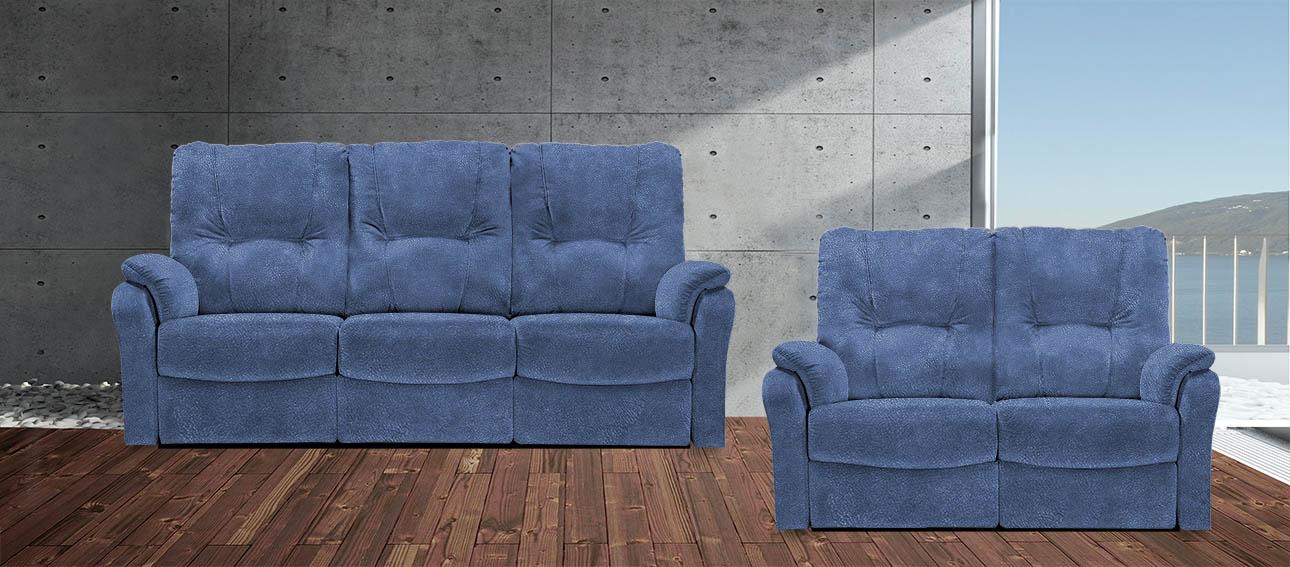 סלון מתכוונן רילקסון קנדה 8099 4724-07 כחול נובוק מעונן מיקרופייבר