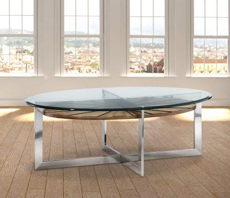 צ'רצ'יל – שולחן סלוני אובלי