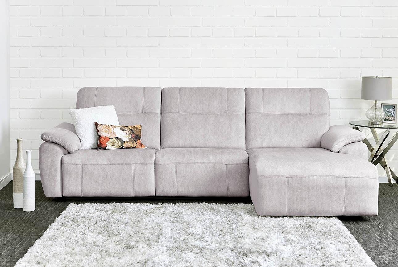 רילקסון קנדה ספה ארוכה עם ריקליינרים שזלונג 4007 - אפור 21