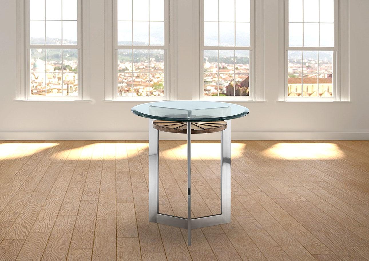 צ'רצ'יל - שולחן פינתי לסלון