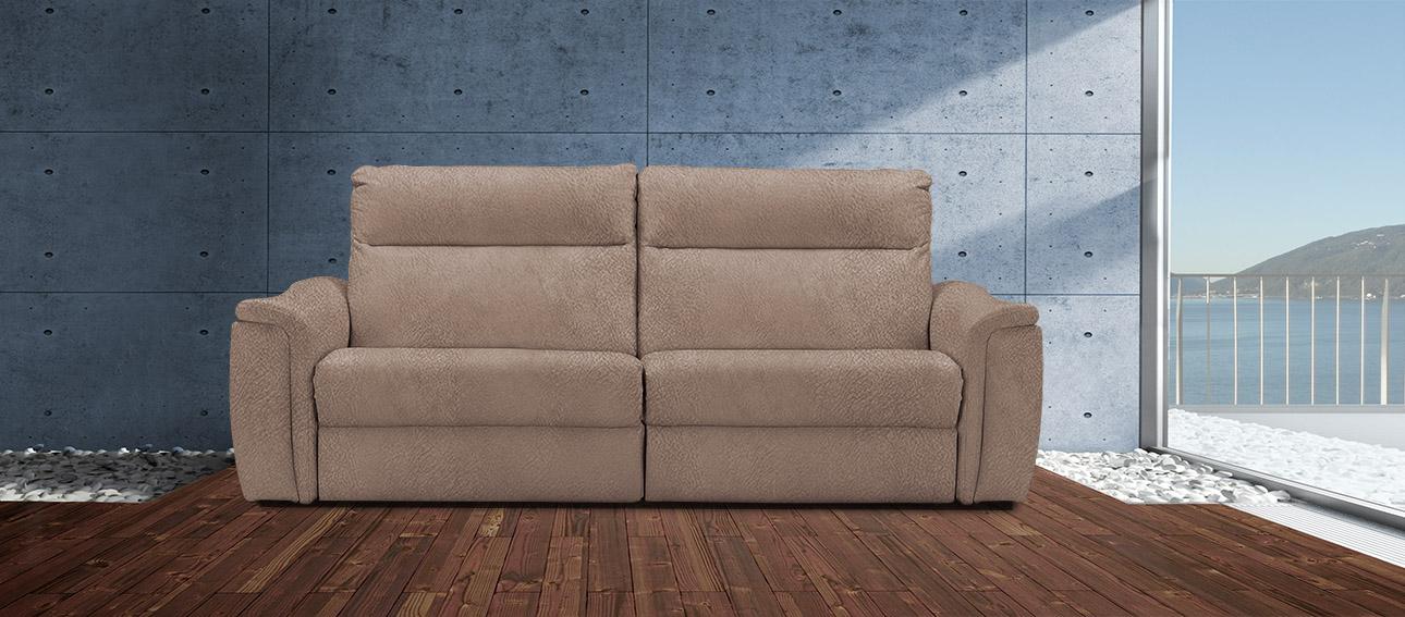 ספה 4056 רילקסון קנדה מתכווננת ריקליינרים תוצרת קנדה מושבים רחבים אלגנטית מעוצבת בד 4724 12