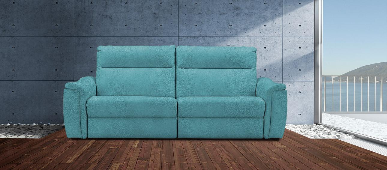 ספה 4056 רילקסון קנדה מתכווננת ריקליינרים תוצרת קנדה מושבים רחבים אלגנטית מעוצבת בד 4724 47