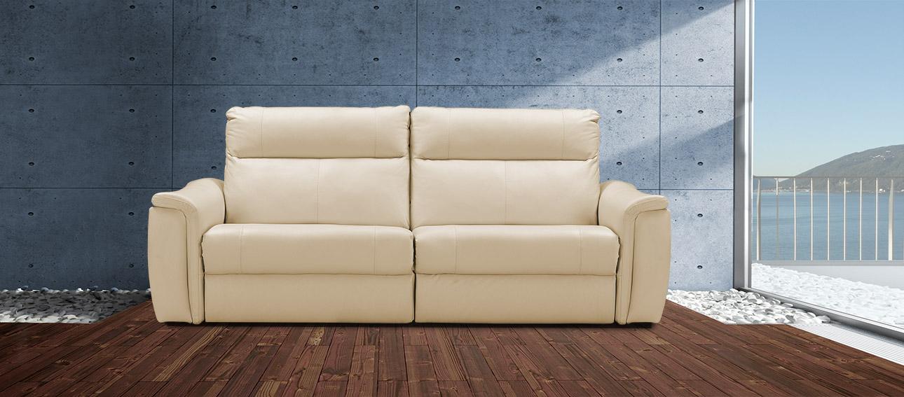 ספה 4056 רילקסון קנדה מתכווננת ריקליינרים תוצרת קנדה מושבים רחבים אלגנטית מעוצבת בז