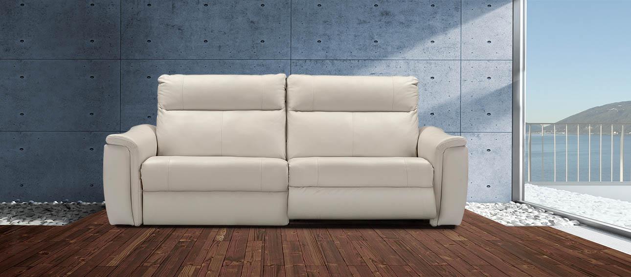 ספה 4056 רילקסון קנדה מתכווננת ריקליינרים תוצרת קנדה מושבים רחבים אלגנטית מעוצבת צבע אבן 11 ריקליינר פתוח