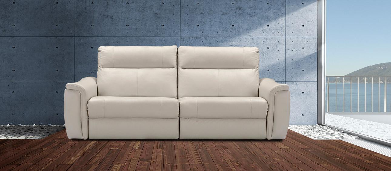 ספה 4056 רילקסון קנדה מתכווננת ריקליינרים תוצרת קנדה מושבים רחבים אלגנטית מעוצבת צבע אבן 11