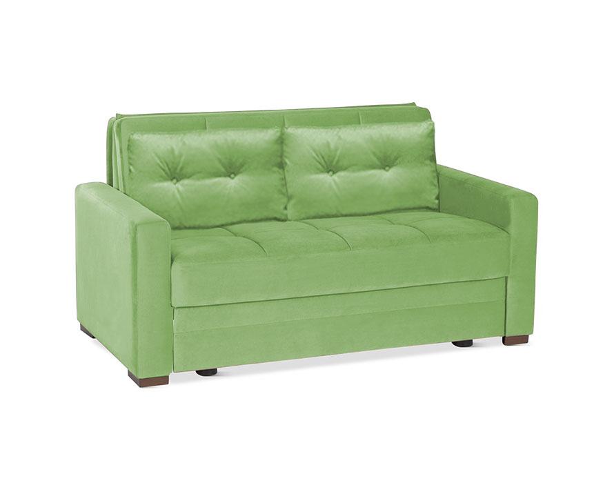דו מושבי נפתח למיטה דגם טנגו עם מסעדים ירוק