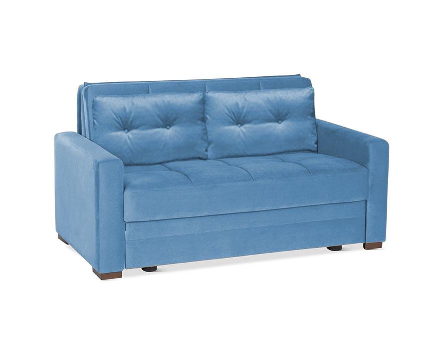דו מושבי נפתח למיטה דגם טנגו עם מסעדים רילקסון כחול