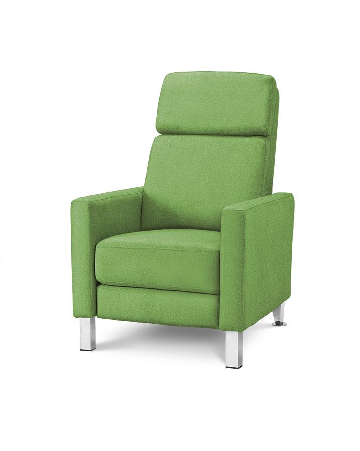 כורסת טלויזיה מעוצבת רילקסון קנדה HO692 ירוק 03 אלגנטית