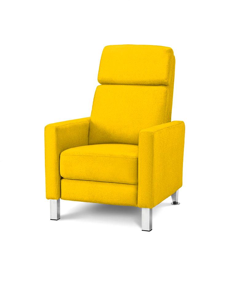 כורסת טלויזיה מעוצבת רילקסון קנדה HO692 צהוב 04 אלגנטית