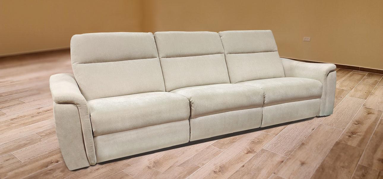 רילקסון קנדה ספה עם ריקליינרים 4056 OUTLET side