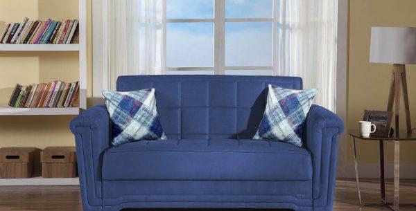 ספה דו מושבית נפתחת למיטה מודרנית
