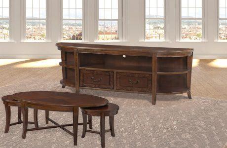 מזנון ושולחן בעיצוב אנגלי קלאסי