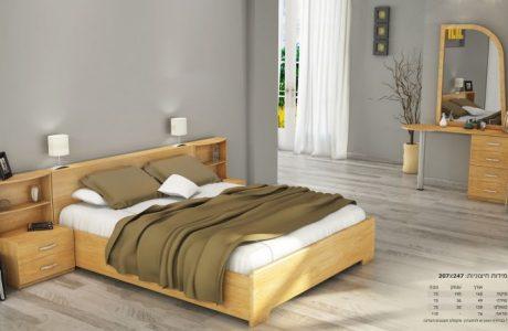 חדר שינה אלון טבעי