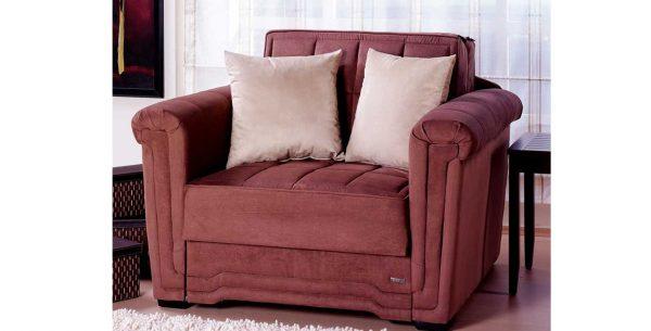 כורסא נפתחת למיטה מפנקת מבד