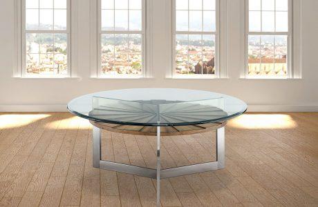 צ'רצ'יל – שולחן סלוני עגול